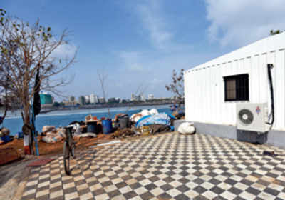 Shivaji project office riles Cuffe fishermen