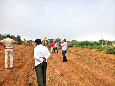 District collector raps forest dept for forcefully taking over farmers' land
