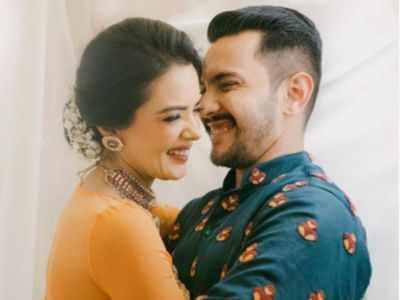 Aditya Narayan and Shweta Agarwal's pre-wedding celebrations begin, see viral photos and videos