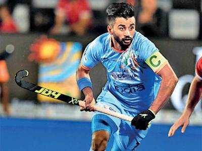 Manpreet Singh: Target is to reach Olympics final