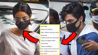 Aryan Khan and Ananya Panday discussed 'weed': Report