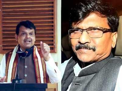 BJP doesn't want to keep Mumbai in Maharashtra: Sanjay Raut slams Devendra Fadnavis over 'saffron flag' on BMC remark