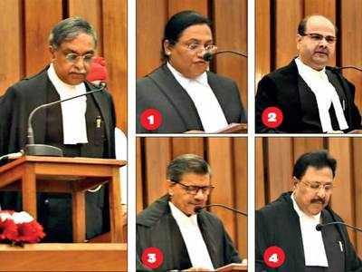 Four judges sworn in to Gujarat High Court