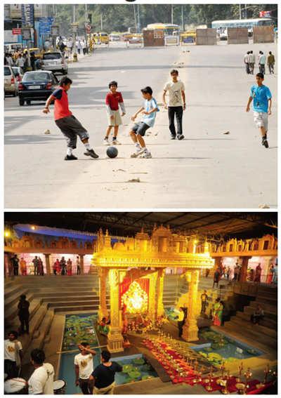 Resident warrior: Bengaluru goes minus 10 years every festival