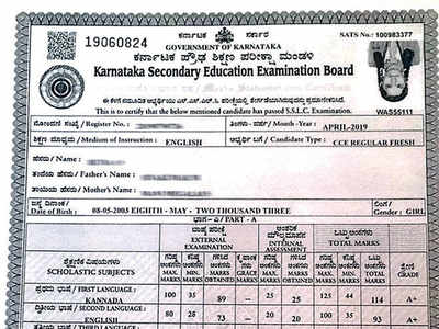 Students' photos in SSLC marks card upside-down
