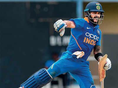 Captain Virat Kohli won't stop dancing and scoring tons of runs