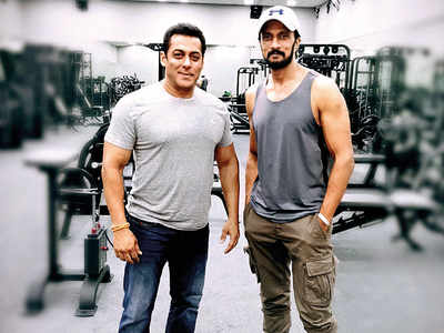 Bare-chested fight to the finish for Salman, Sudeep