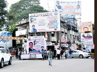 PMC files case against only 1 of the 22,239 illegal hoardings in CM's yatra