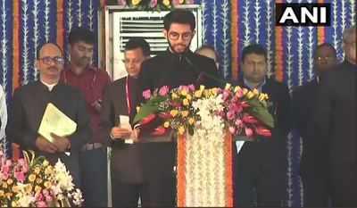 Maharashtra cabinet expansion live updates: Aditya Thackeray takes oath as minister