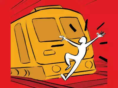 21-year-old jumps before train, dies