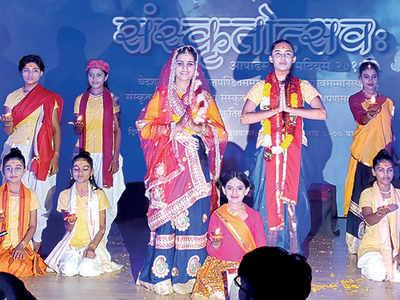 Celebrating the beauty of Sanskrit
