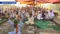 'Rail Roko' agitation against farm laws enters 7th day in Amritsar