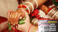 Want to get married in Tamil Nadu? Get your parents' consent first!