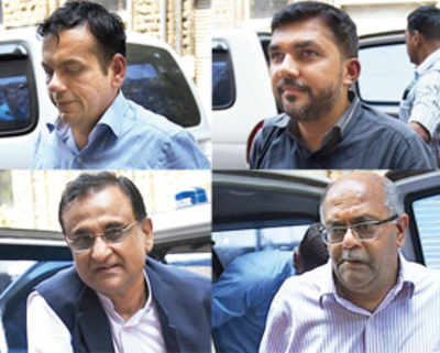 Top I-T man, 5 others held in graft case
