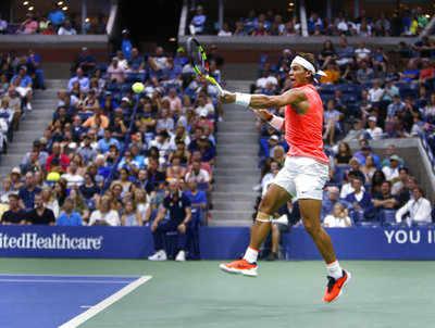 US Open 2018: Rafael Nadal 'bagelled' but survives Dominic Thiem test to reach semis
