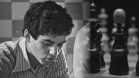 Garry Kasparov of USSR became the youngest World Chess Champion at age 22