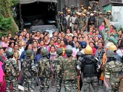 West Bengal: GJM decides to temporarily relax indefinite strike for Gorkhaland