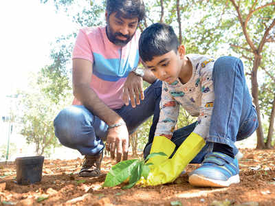 Bengaluru: Seven-year-old dreams of a gardening career