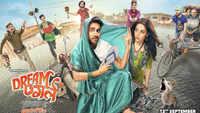 Ayushmann Khurrana, Nushrat Bharucha shoot song for 'Dream Girl'