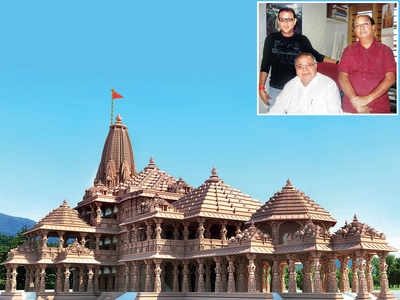 The family behind building the mandir