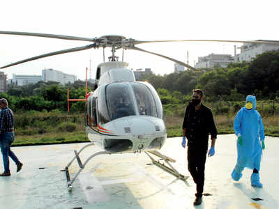 GREEN SHOOT: Air taxi services set to resume