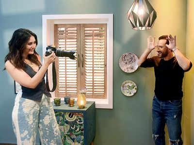 Kareena Kapoor Khan and Saif Ali Khan engage in a fun banter