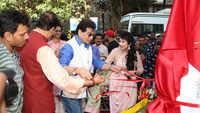 Jeetendra, Johnny Lever mark presence at inauguration of Padma Shri Mahendra Kapoor Chowk