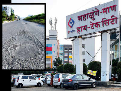 Authority fixes single pothole shown by techie but rest of NH-48 service road left in its terrible state