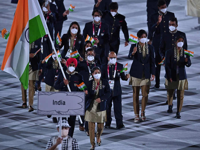 More Pics from India's contingent