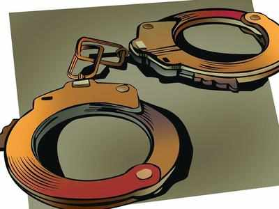 Constable held for blackmailing, raping woman