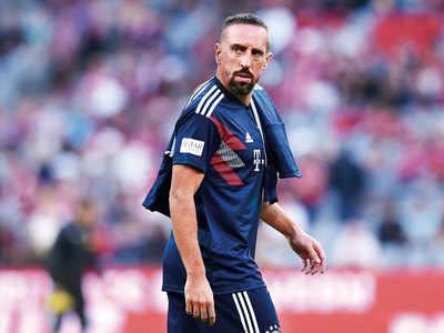 Bayern tackle ribery
