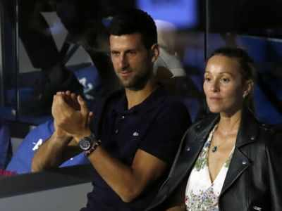 Novak Djokovic, his wife test negative for coronavirus
