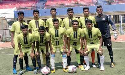 A bunch of Bengaluru kids learning to play the beautiful game are now under a Holland club's wings