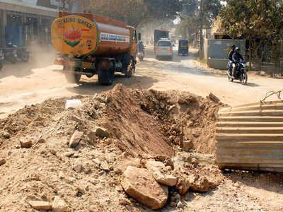 Balagere Main Road in severe need of repair
