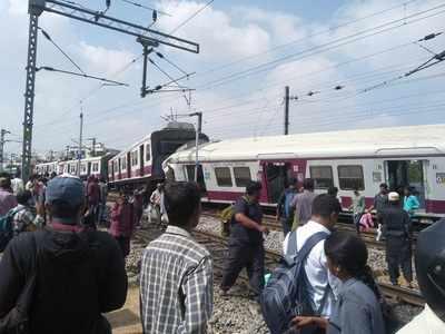 Trains collide in Hyderabad, 16 passengers injured