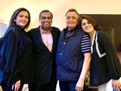 Neetu Kapoor thanks Ambani family for 'going above and beyond' for Rishi Kapoor