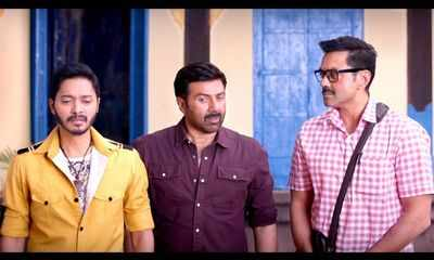 Poster Boys movie review: Let Sunny Deol, Bobby Deol and Shreyas Talpade's film tickle your funny bones