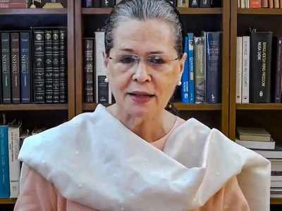 Sonia Gandhi holds virtual meeting with Congress Lok Sabha MPs