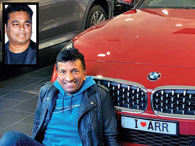 AR Rahman's fan dedicates dream car to him