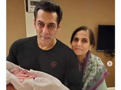 Arpita Khan Sharma shares pictures of daughter Ayat with her Mamu Jaan Salman Khan