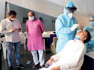 Fresh cases of Covid-19 in Gujarat drop below 1,400