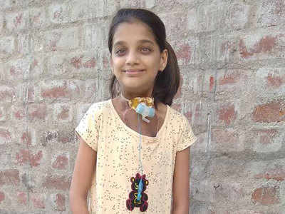 Crowdfunding saves Surat teenager from football-size tumour around her neck