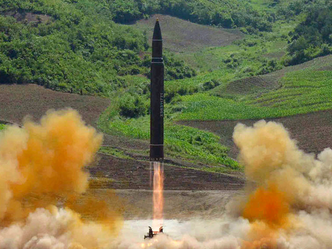 'NKorea nuclear test site partially collapsed after massive blast'