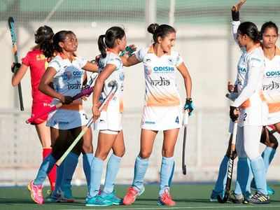 Hockey: Rani Rampal's late strike hands India 3-2 win over Spain
