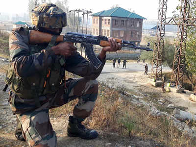 3 terrorists shot in J&K; militants kill labourer, two apple traders
