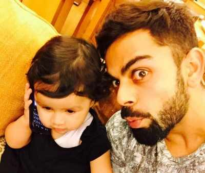 Virat Kohli spending time with baby Ziva is the cutest picture on internet today