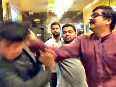 MNS workers beat up PVR manager over high prices of popcorn, vada pav