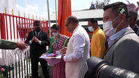 Manipur CM unveils statue of Gorkha slain soldier Niranjan Chhetri
