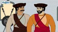 Kids Stories | Nursery Rhymes & Baby Songs - 'Judgement Of The Patil - Great Warrior Shivaji Maharaj'- Kids Nursery Story In English