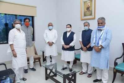 Bihar assembly elections 2020 live: Nitish Kumar and JP Nadda hold seat-sharing talks